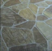 flagstone stamped concrete design