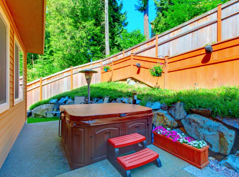 hot tub pad in atlanta