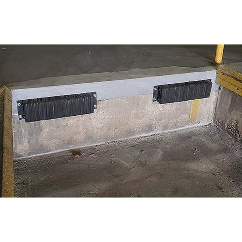 reinforced concrete pads